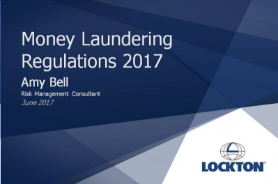 A guide to the new Money Laundering Regulations:  Webinar